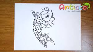 koi fish drawing step by step. Unique Step How To Draw A Koi Fish Step By And Drawing By