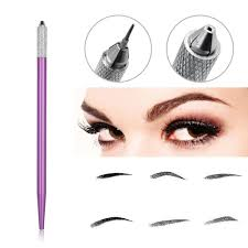 Us 092 7 Offeyebrow Permanent Makeup Pen Light Manual Tattoo Machine For Microblading Needle Blade Manual Tebori Pen In Tattoo Accesories From