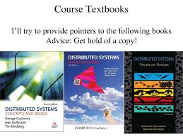 Distributed Systems Concepts And Design Fifth Edition Comp28112 Lecture 1 Distributed Computing Ppt Download