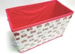 Details About Sanrio Hello Kitty Kawaii Folding Ribbon Easy Light Storage Box Limited Japan