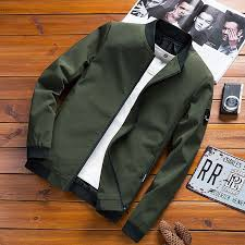 High Quality <b>Spring and Autumn Men's</b> Jacket New Thin ...