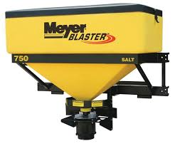 blaster half ton truck tractor tailgate salt spreaders meyer durable hopper