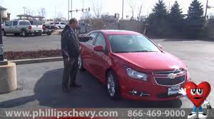 2013 Chevy Cruze LTZ with RS Package at Phillips Chevrolet - New ...