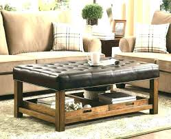 diy upholstered coffee table upholstered coffee table ottoman or storage with tray side ottomans diy upholstered