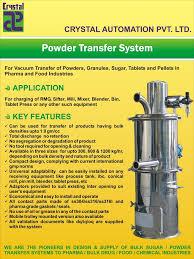 Powder Transfer System Design Powder Transfer System Gmp Type