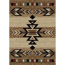 santa fe trail area rug
