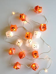 diy halloween lighting. DIY Origami Halloween Lights Diy Lighting H