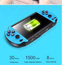 Máy chơi game cầm tay X7-900 trò chơi màn hình 4.3 inch kèm thẻ nhớ 8 GB