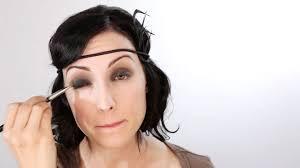 1920 s inspired eye makeup makeup brownsvilleclaimhelp 1920s eye makeup tutorial