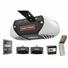 craftsman door opener. Craftsman 1.25 HP Belt Drive Smart Garage Door Opener E