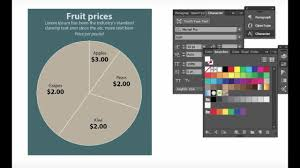 Create Pie Chart In Illustrator Cc How To Make A Simple Pie Chart In Adobe Illustrator Cc