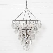 adeline large round chandelier iron