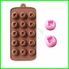 Decorative Ice Cube Trays Aliexpress Buy 60PCS Chocolate candy silicone mold Silicone 12