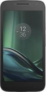 moto verizon. verizon prepaid - moto g4 play 4g lte with 16gb memory cell phone black
