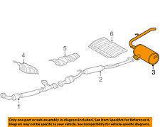 car & truck mufflers for toyota sienna , genuine oem ebay toyota sienna exhaust system diagram at Sienna Exhaust Diagram