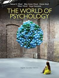 World of Psychology TEST BANK Canadian 8th Edition Wood