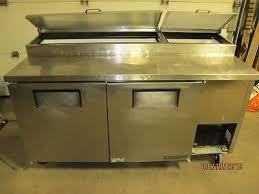 true tpp 67 67 pizza sandwich prep station table refrigerated base 115v