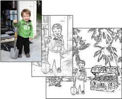Small Picture Create Coloring Book Pages from Photos