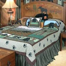 bear bedding sets bear quilts bedding bear country quilt sets black bear quilt bedding pooh bear
