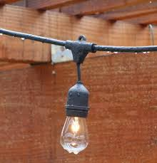 deneve outdoor string lights patio top for the holidays teak furniture world outside garden electric large canada clear round light bulbs decorative hanging