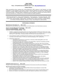 Remarkable Product Manager Resume Sample And Job Development And