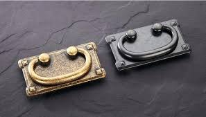 furniture drawer pulls and knobs. Furniture Pull Handles 3 Vintage Drawer Pulls Antique Brass Black Kitchen Cabinet Knob Decorative And Knobs R