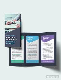 Brochure Templates For It Company 18 Software Brochures Psd Vector Eps