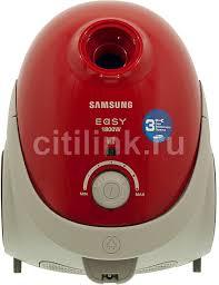 Купить <b>Пылесос SAMSUNG</b> VCC5251V3R/XEV, красный в ...