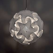 grossman lighting. Pendant Lamp / Original Design Polyamide - QUIN: CHRISTMAS ORNAMENT By Bathsheba Grossman Lighting