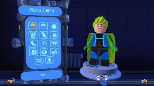 Design Your Character How To Create Your Own Superhero In Lego The Incredibles