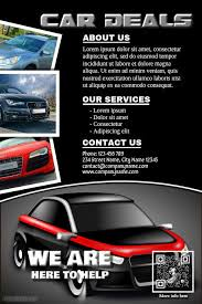 Car Dealership Flyer Templates Pin By Dani Lukman Hakim On Flyers Templates Sunday