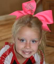 age appropriate cheer makeup