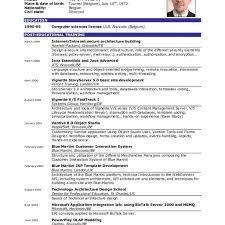 English Resume Examples Filename Invest Wight