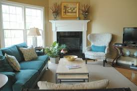 fireplace furniture arrangement. Corner Fireplace Furniture Arrangement The Decorologist