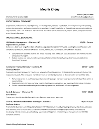 Sample Financial Advisor Resume Investment Advisor Resumes Enderrealtyparkco 13
