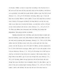 child development essay letter to parents 4 own location children