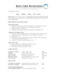Objective Resume Amazing Resumer Examples Resume Examples For Objective Career Objectives