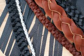 picture of making braided leather