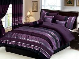 matching comforter and curtain sets bed linen amusing purple curtains bedding 3