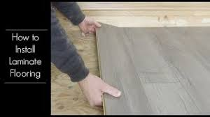how to install golden select laminate