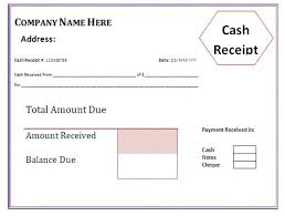Cash Receipt Forms 11 Sample Receipts Forms Proposal Review