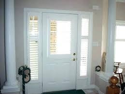 front doors with windows front door with windows front door window coverings front door blinds and