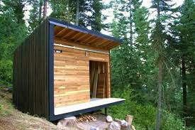 Small Picture Signal Shed A Micro Modern Cabin Prefab Inhabitat Green