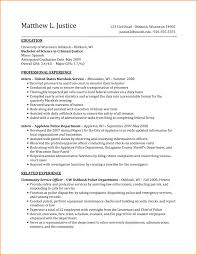 Criminal Justice Objective Statements For Resumes Criminal Justice Resume Resumes Summary Statement For Examples 8