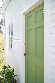 farrow and ball exterior paint inspiration. door in yeabridge green by farrow \u0026 ball | remodelista and exterior paint inspiration