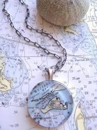 Nautical Chart Accessories And Jewelry Fashion Nautical Style