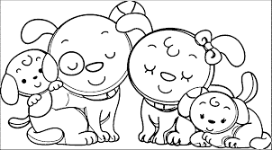 Small Picture Family Coloring Page Coloring Pages Of A Family Printable Family