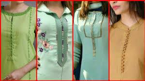 Pakistani Shirts Gala Designs Top 30 Stylish And Simple Neck Designs 2019 Kameez Gala