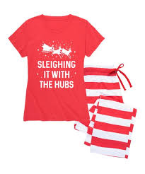 Chat Hubs Nap Chat Family Red Red Holiday Stripe Sleighing It With