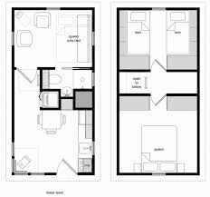 tiny house on wheels plans free pdf unique floor plan trailer colonial log family bedroom great